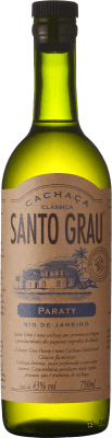 24,95 € Envío gratis | Cachaza Santo Grau Brasil Botella 70 cl