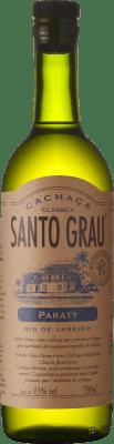 25,95 € Kostenloser Versand | Cachaza Santo Grau Brasilien Flasche 70 cl