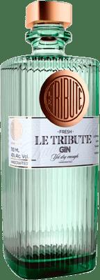 45,95 € Envoi gratuit | Gin Le Tribute Gin Espagne Bouteille 70 cl