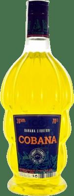 11,95 € Free Shipping | Schnapp Cobana Licor de Banana Spain Bottle 70 cl