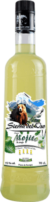 9,95 € Envío gratis | Licores Mojito Sierra del Oso España Botella 70 cl