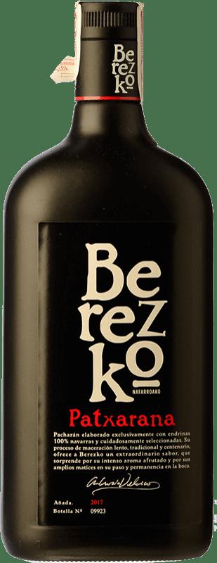 15,95 € Kostenloser Versand | Pacharán Berezko Premium Spanien Rakete Flasche 1 L
