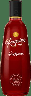 8,95 € Kostenloser Versand | Pacharán Rua Vieja Ruavieja Spanien Flasche 70 cl