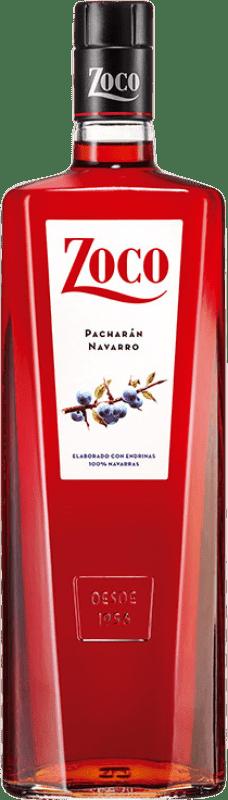 9,95 € Kostenloser Versand | Pacharán Zoco Spanien Rakete Flasche 1 L