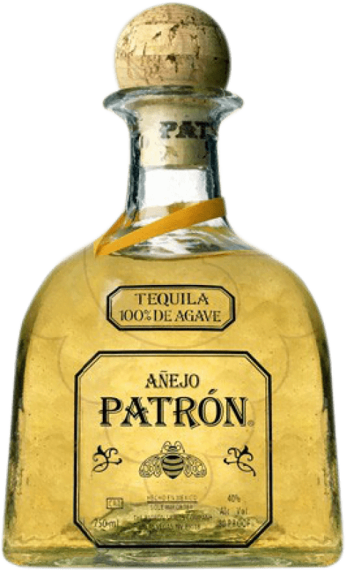 127,95 € Free Shipping | Tequila Patrón Añejo Mexico Magnum Bottle 1,75 L
