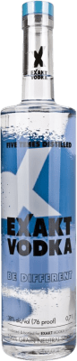 9,95 € Kostenloser Versand | Wodka Exakt Schweden Flasche 70 cl