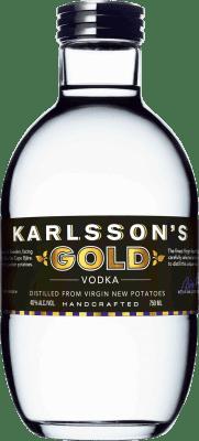 43,95 € Free Shipping   Vodka Karlsson's Gold Sweden Bottle 70 cl