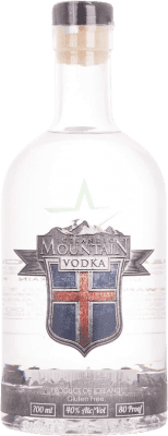 27,95 € Free Shipping | Vodka Mountain Iceland Bottle 70 cl
