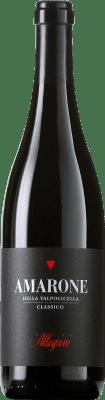 93,95 € Envío gratis | Vino tinto Allegrini Amarone Classico Crianza Otras D.O.C. Italia Italia Corvina, Rondinella, Oseleta Botella 75 cl
