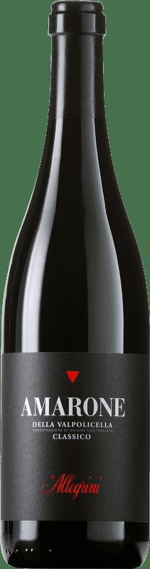 93,95 € Free Shipping | Red wine Allegrini Amarone Classico Crianza Otras D.O.C. Italia Italy Corvina, Rondinella, Oseleta Bottle 75 cl