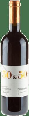 128,95 € Free Shipping   Red wine Capannelle 50 & 50 2008 Otras D.O.C. Italia Italy Merlot, Sangiovese Bottle 75 cl