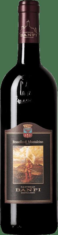 36,95 € Envoi gratuit | Vin rouge Castello Banfi D.O.C.G. Brunello di Montalcino Italie Sangiovese Bouteille 75 cl