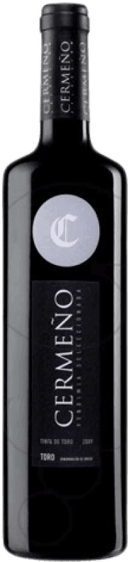3,95 € Free Shipping | Red wine Cermeño Collita D.O. Toro Castilla y León Spain Tempranillo Bottle 75 cl