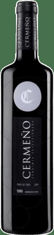 4,95 € Envío gratis | Vino tinto Cermeño Collita D.O. Toro Castilla y León España Tempranillo Botella 75 cl