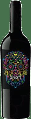 9,95 € 免费送货   红酒 Demuerte Crianza D.O. Yecla Levante 西班牙 Syrah, Monastrell 瓶子 75 cl