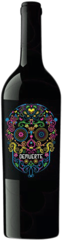 9,95 € Free Shipping | Red wine Demuerte Crianza D.O. Yecla Levante Spain Syrah, Monastrell Bottle 75 cl