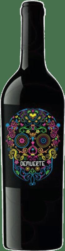 9,95 € Envoi gratuit | Vin rouge Demuerte Crianza D.O. Yecla Levante Espagne Syrah, Monastrell Bouteille 75 cl