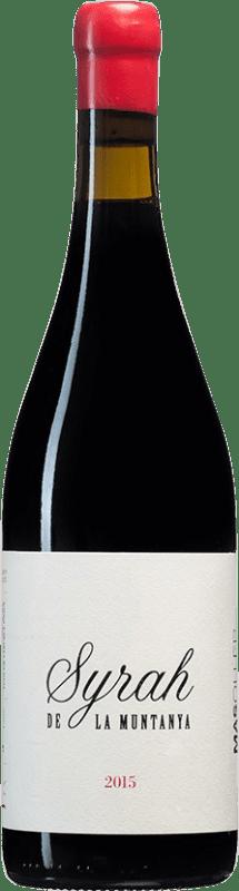 23,95 € Free Shipping | Red wine Mas Oller La Muntanya Crianza D.O. Empordà Catalonia Spain Syrah Bottle 75 cl