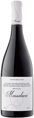 9,95 € Free Shipping | Red wine Massaluca Negre Crianza D.O. Terra Alta Catalonia Spain Bottle 75 cl