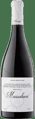 9,95 € Kostenloser Versand | Rotwein Massaluca Negre Crianza D.O. Terra Alta Katalonien Spanien Flasche 75 cl