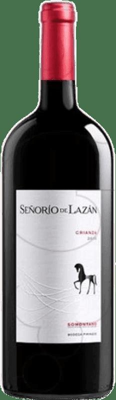 13,95 € Envío gratis   Vino tinto Pirineos Señorío de Lazán Crianza D.O. Somontano Aragón España Tempranillo, Merlot, Cabernet Sauvignon Botella Mágnum 1,5 L