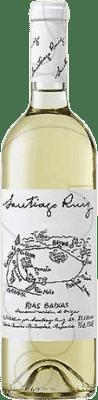 27,95 € Бесплатная доставка | Белое вино Santiago Ruiz Joven D.O. Rías Baixas Галисия Испания Godello, Loureiro, Treixadura, Albariño, Caíño White бутылка Магнум 1,5 L