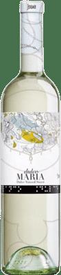 6,95 € 免费送货 | 白酒 María 甜美 Joven Castilla la Mancha y Madrid 西班牙 Malvar 瓶子 75 cl