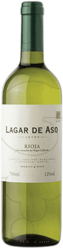 4,95 € Spedizione Gratuita | Vino bianco Lagar de Aso Blanc Joven D.O.Ca. Rioja La Rioja Spagna Macabeo Bottiglia 75 cl
