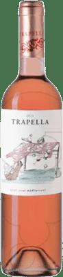 7,95 € Free Shipping | Rosé wine Trapella Joven D.O. Empordà Catalonia Spain Syrah Bottle 75 cl