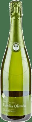 4,95 € Envío gratis | Espumoso blanco Familia Oliveda Seco D.O. Cava Cataluña España Macabeo, Xarel·lo Botella 75 cl