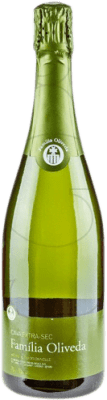 5,95 € Free Shipping | White sparkling Familia Oliveda Dry D.O. Cava Catalonia Spain Macabeo, Xarel·lo Bottle 75 cl