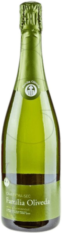 4,95 € Free Shipping | White sparkling Familia Oliveda Dry D.O. Cava Catalonia Spain Macabeo, Xarel·lo Bottle 75 cl