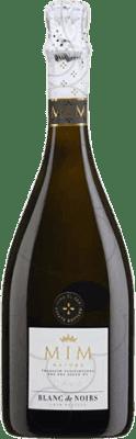 17,95 € Kostenloser Versand | Weißer Sekt Mim Blanc de Noirs Brut Natur Gran Reserva D.O. Cava Katalonien Spanien Flasche 70 cl