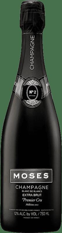 58,95 € Envoi gratuit | Blanc moussant Moses Nº 2 Blanc de Blancs Millesime 1er Cru Brut Gran Reserva A.O.C. Champagne France Chardonnay Bouteille 75 cl
