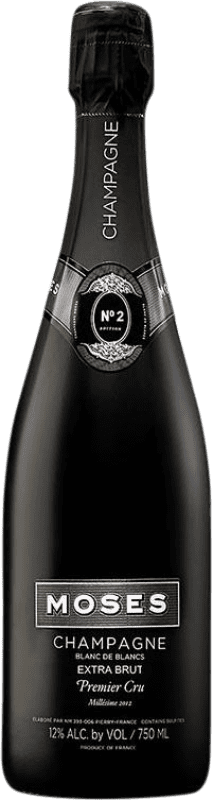 58,95 € Free Shipping | White sparkling Moses Nº 2 Blanc de Blancs Millesime 1er Cru Brut Gran Reserva A.O.C. Champagne France Chardonnay Bottle 75 cl