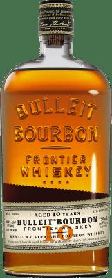 29,95 € Envío gratis | Bourbon Bulleit Distillery 10 Años Reserva Estados Unidos Botella 70 cl