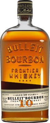 39,95 € Free Shipping | Bourbon Bulleit Distillery 10 Años Reserva United States Bottle 70 cl