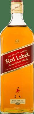 59,95 € Free Shipping | Whisky Blended Johnnie Walker Red Label United Kingdom Jeroboam Bottle-Double Magnum 3 L