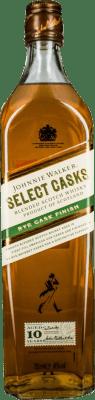 45,95 € Free Shipping | Whisky Blended Johnnie Walker Select Casks 10 Años Reserva United Kingdom Bottle 70 cl