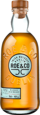 22,95 € Envío gratis | Whisky Blended Roe & Co Irlanda Botella 70 cl