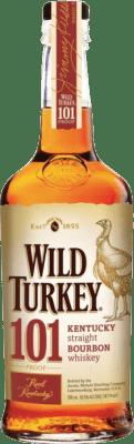 26,95 € Free Shipping | Bourbon Wild Turkey 101 United States Bottle 70 cl