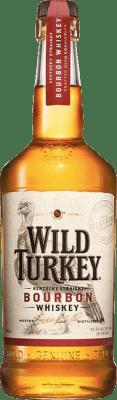 21,95 € Free Shipping | Bourbon Wild Turkey 81 United States Bottle 70 cl