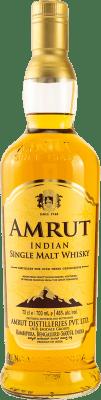 31,95 € Envío gratis   Whisky Single Malt Amrut India Botella 70 cl