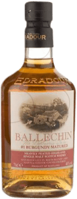 89,95 € Envoi gratuit | Whisky Single Malt Ballechin Burgundy Cask Royaume-Uni Bouteille 70 cl