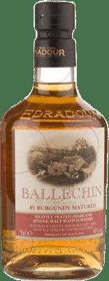 89,95 € Free Shipping | Whisky Single Malt Ballechin Burgundy Cask United Kingdom Bottle 70 cl