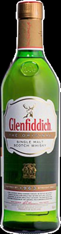 115,95 € Free Shipping | Whisky Single Malt Glenfiddich The Original United Kingdom Bottle 70 cl