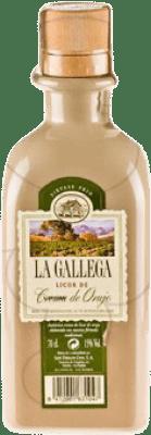12,95 € Envío gratis | Crema de Licor La Gallega Crema de Orujo España Botella 70 cl