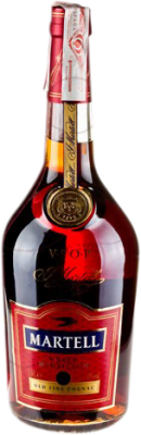 46,95 € Free Shipping | Cognac Martell V.S.O.P. Very Superior Old Pale France Missile Bottle 1 L