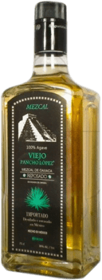 25,95 € Free Shipping | Mezcal Pancho Lopez Reposado Mexico Bottle 70 cl