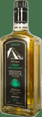 22,95 € Kostenloser Versand | Mezcal Pancho Lopez Reposado Mexiko Flasche 70 cl